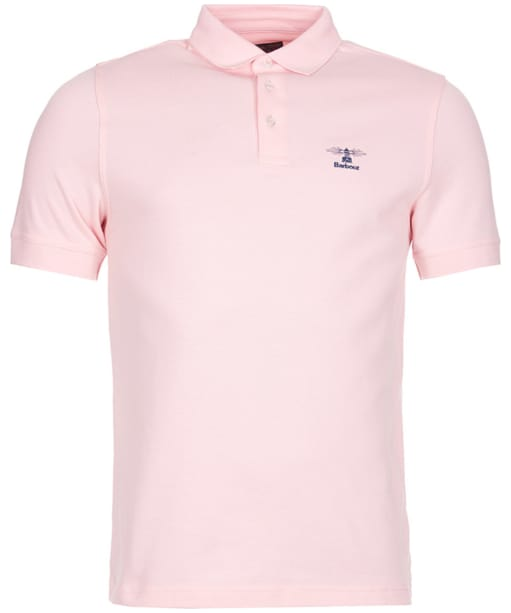 Men's Barbour Joshua Polo Shirt - Light Pink