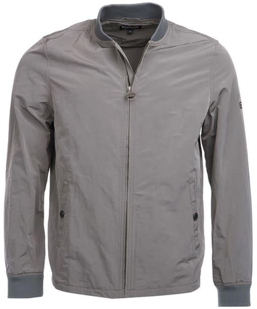 Men's Barbour International Bolt Sweater Jacket - Grey