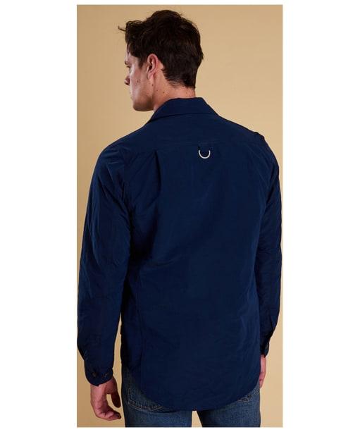 Men's Barbour Hoad Overshirt - Back