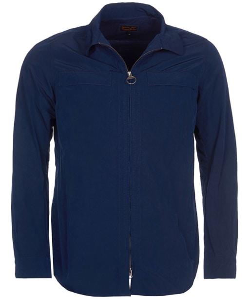Men's Barbour Hoad Overshirt - Blue
