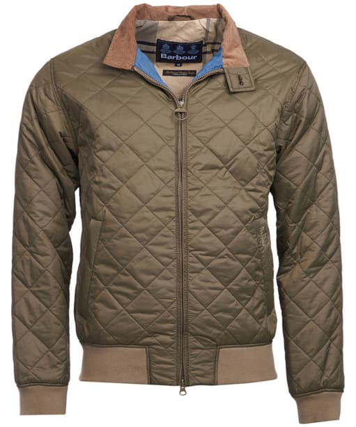 Men's Barbour Bates Quilted Jacket - Clay