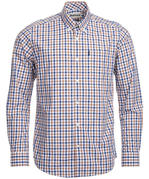 Men's Barbour Bruce Tailored Shirt - Mocha Check