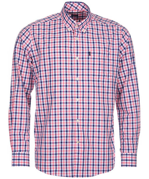 Men's Barbour Bruce Tailored Shirt - Pink Check