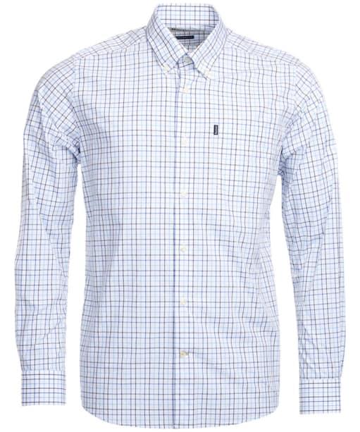 Men's Barbour Patrick Shirt - Mid Blue Check
