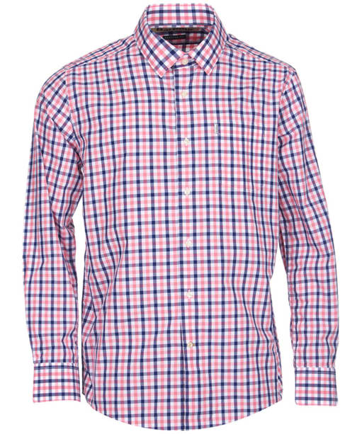 Men's Barbour Fonthill Check Shirt - Pink Check