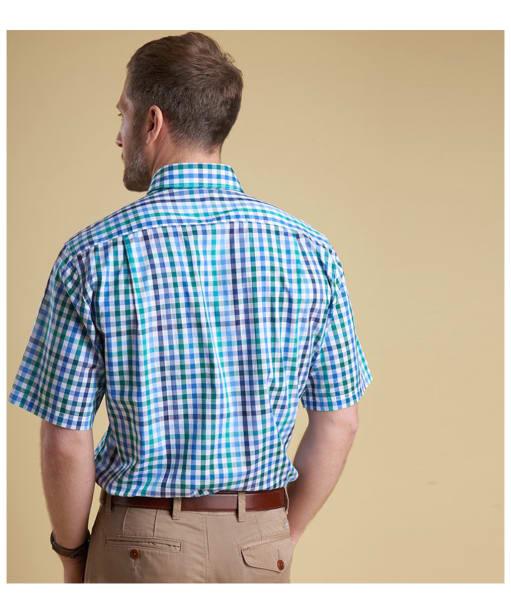 Men's Barbour Hawnby Check Shirt - Back