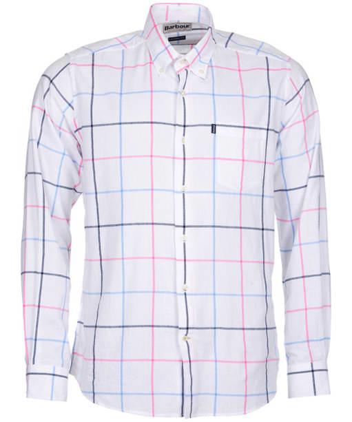 Men's Barbour Max Tailored Fit Shirt - Pink
