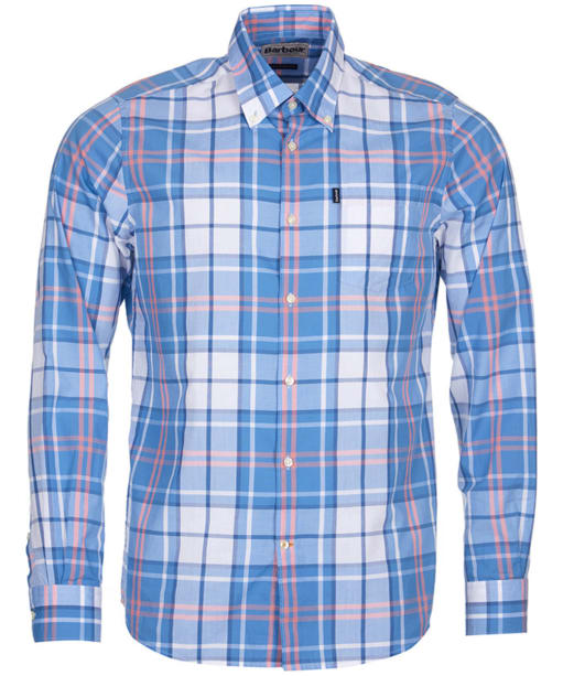Men's Barbour Jeff Tailored Fit Shirt - Blue Check