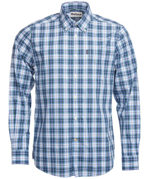 Men's Barbour Leo Tailored Fit Shirt - Green Check