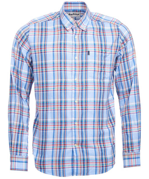 Men's Barbour Bram Check Shirt - Blue Check
