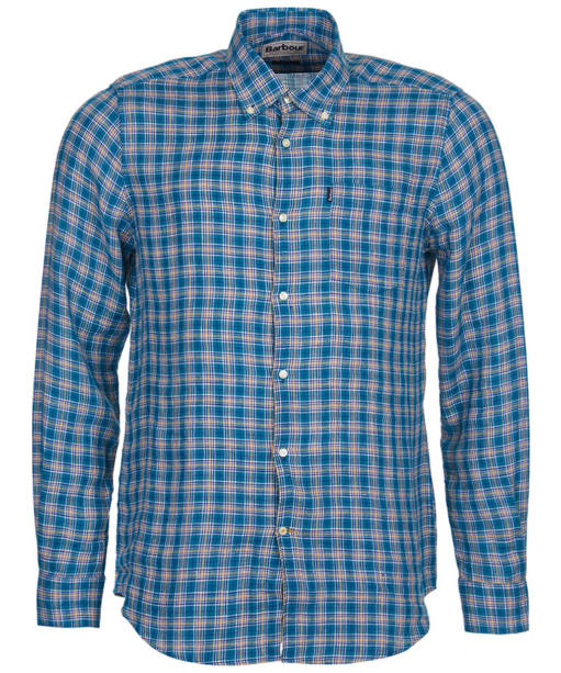 Men's Barbour Felix Tailored Fit Shirt - Green Check