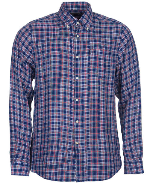 Men's Barbour Felix Tailored Fit Shirt - Navy Check