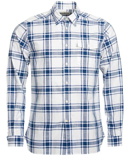 Men's Barbour Elver Shirt - Willow Green Check
