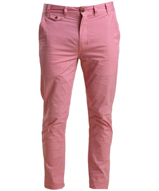 Men's Barbour Neuston Stretch Chinos - Dusty Pink