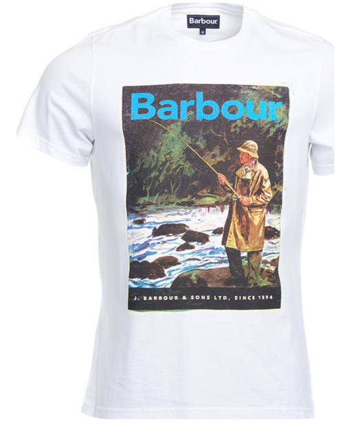 Men's Barbour Historic Tee - White
