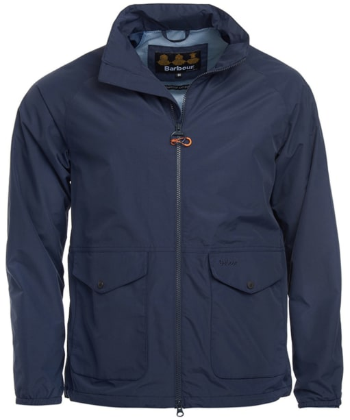 Men's Barbour Dee Waterproof Jacket - Navy