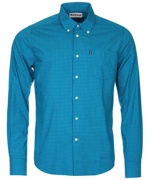 Men's Barbour Leonard Shirt Tailored Fit - Lawn