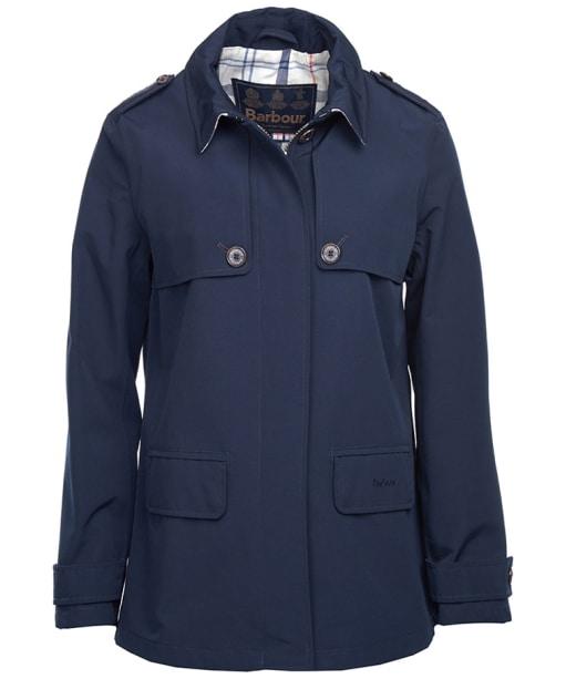 Women's Barbour Glenrothes Waterproof Jacket - Navy