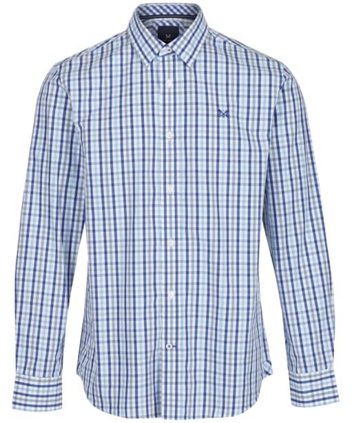 Men's Crew Clothing Classic Gingham Shirt - Sky / Blue / Ultramarine