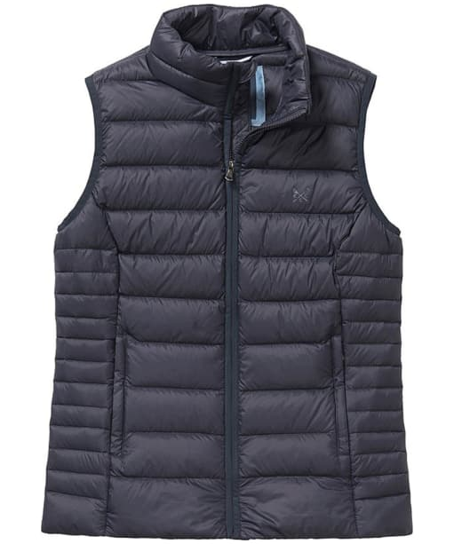 Women's Crew Clothing Lightweight Down Gilet - Dark Navy