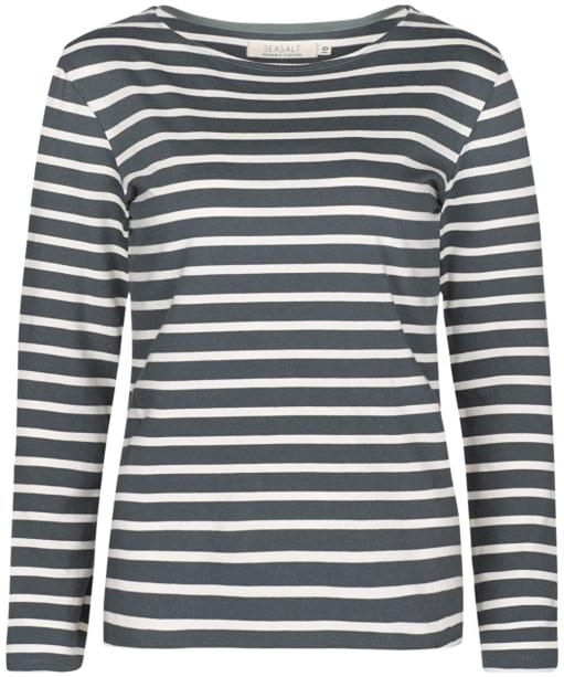 Women's Seasalt Sailor Shirt - BRETON LEAD ECR