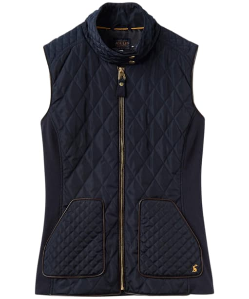 Women's Joules Braemar Quilted Gilet - Marine Navy