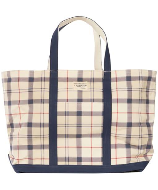 Womens Barbour Kirkwall Tote Bag - Summer Tartan