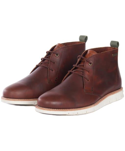Men's Barbour Burghley Boots - Chestnut