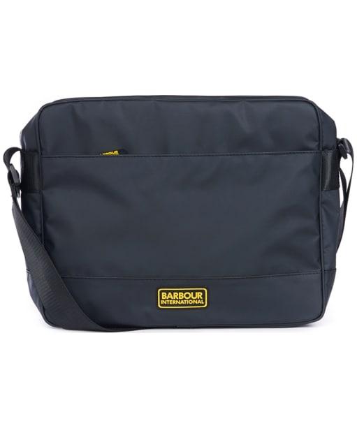 Men's Barbour International Bolt Messenger Bag - Black