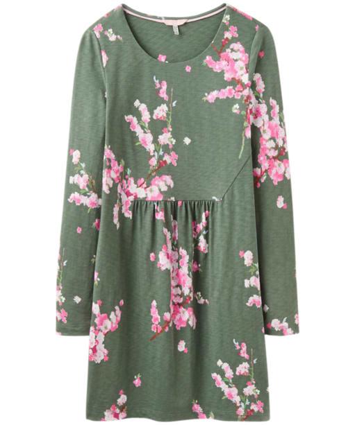 Women's Joules Leanne Slub Jersey Tunic - Laurel Blossom