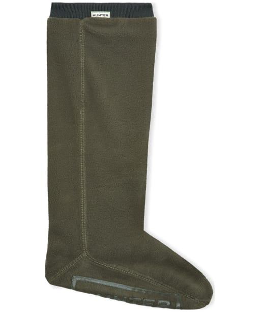 Hunter Fitted Short Boot Socks - Dark Olive