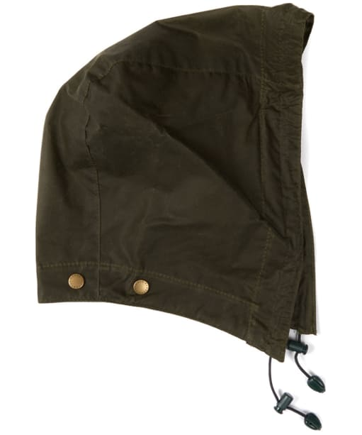 Barbour Lightweight Wax Hood - Archive Olive