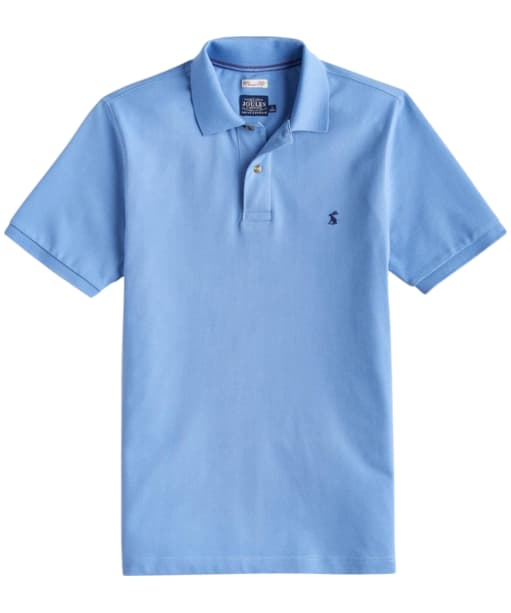 Men's Joules Woody Classic Polo Shirt - Powder Blue