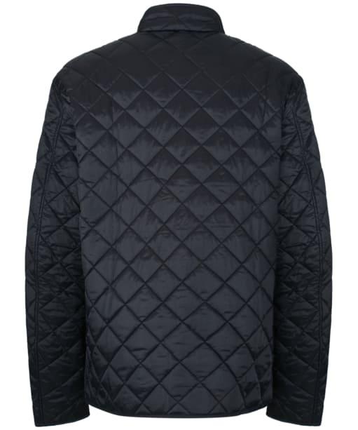 Men's Barbour International Gear Quilted Jacket - Black