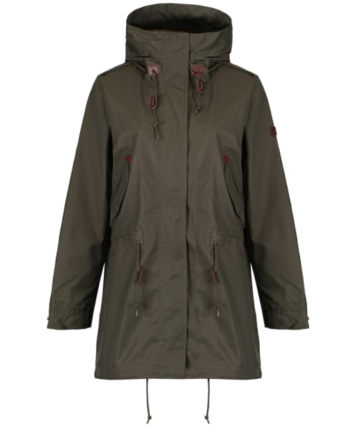Women's Aigle Brokfielder Waterproof Parka - Khaki
