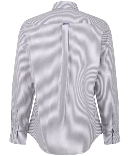 Men's Crew Clothing Classic Stripe Shirt - Steel Grey