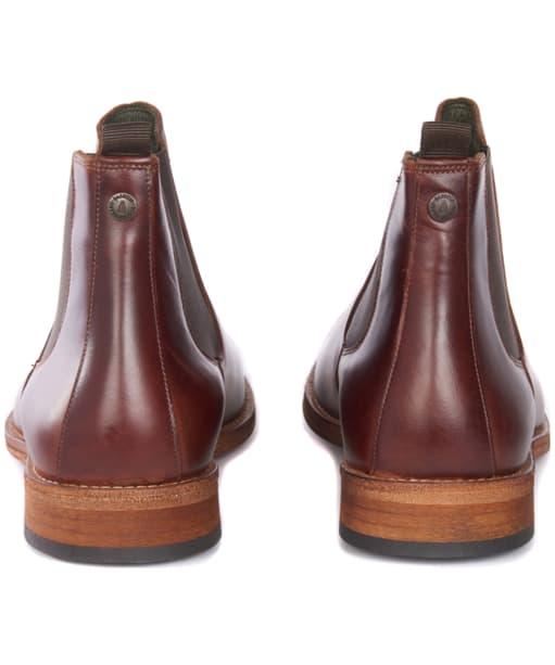 Men's Barbour Bedlington Chelsea Boots - Mahogany