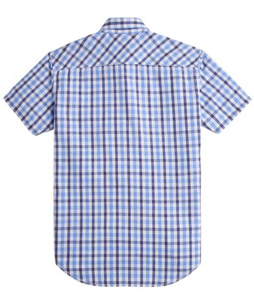Men's Joules Short Sleeve Wilson Shirt - Blue Gingham