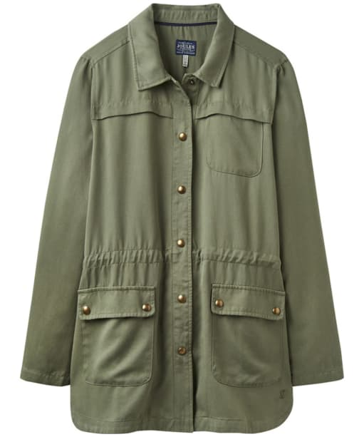Women's Joules Cassidy Safari Jacket - Soft Khaki