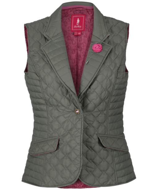 Women's Jack Murphy Esme Quilted Gilet - Contemporary Green