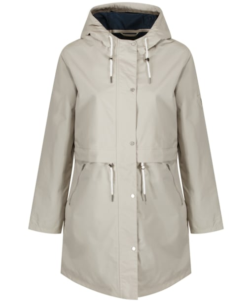Women's Jack Murphy Fern Waterproof Coat - Light Dove