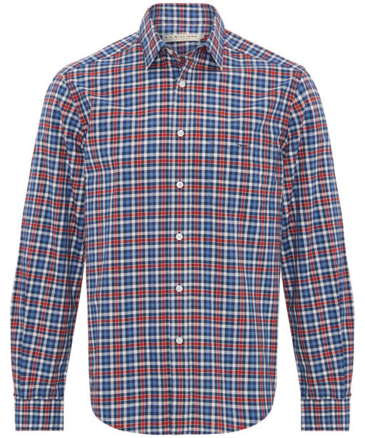 Men's R.M. Williams Collins Standard Collar Shirt - Red Navy