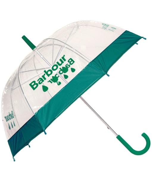 Women's Barbour Raindrop Umbrella - Clover Green