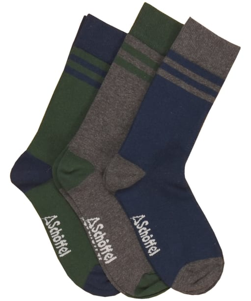 Men's Schoffel Rock Sock - Navy Mix
