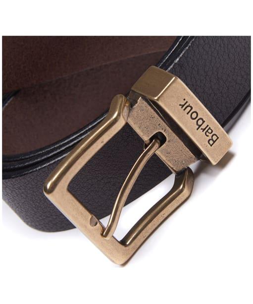 Men's Barbour Blakely Belt - Dark Brown