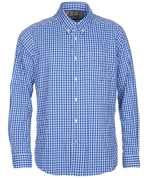 Men's Barbour Hill Performance Shirt - Bright Blue