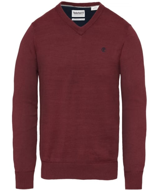 Men's Timberland Williams River V-Neck Sweater - Port Royale