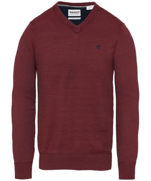 Men's Timberland Williams River V-Neck Sweater - Port Royale