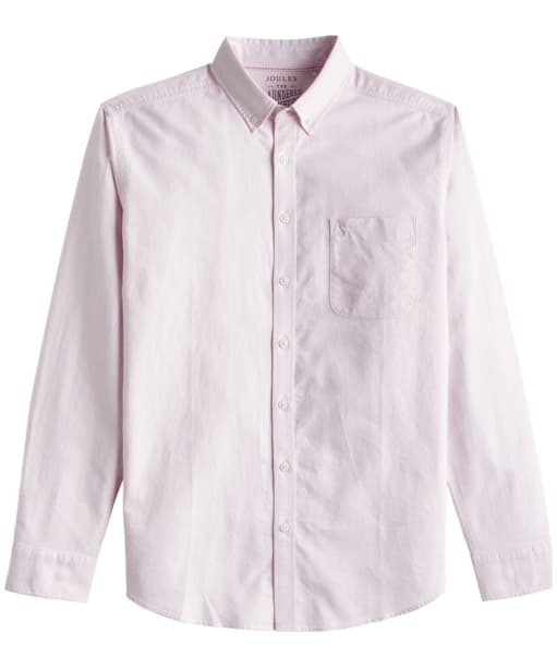 Men's Joules Laundered Oxford Shirt - Washed Pink