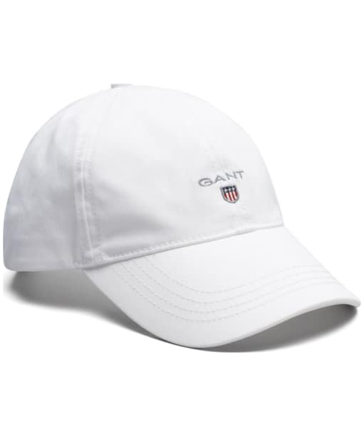 Men's GANT Twill Cap - White